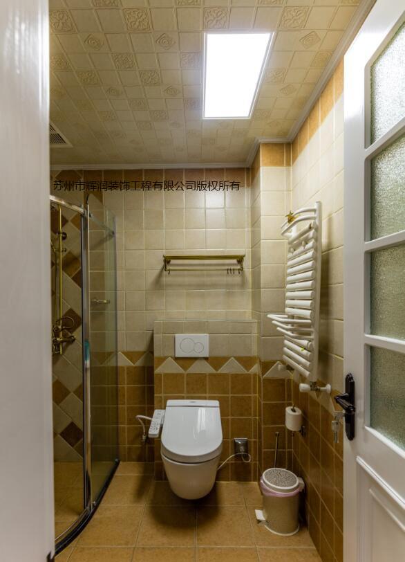 美式风格设计图库之小资情调厕所