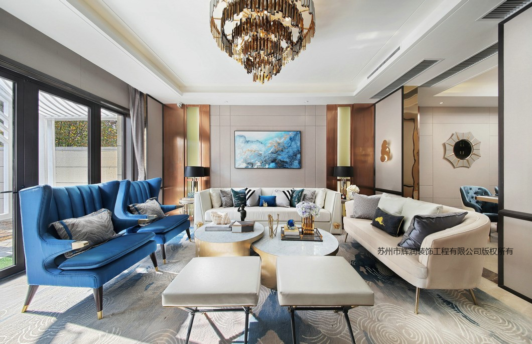 空间设计装修图库之西江斜月客厅