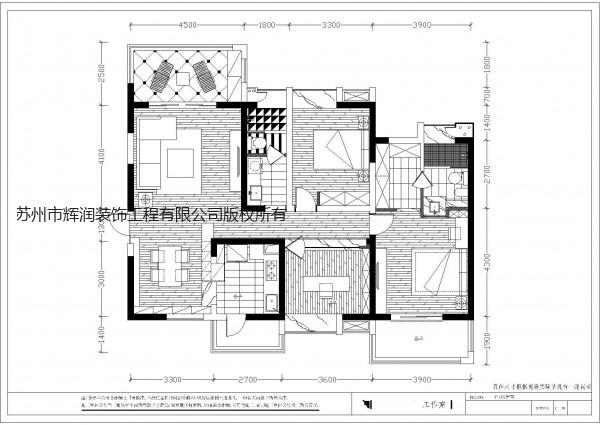 空间设计装修图库之水漾花城布置图
