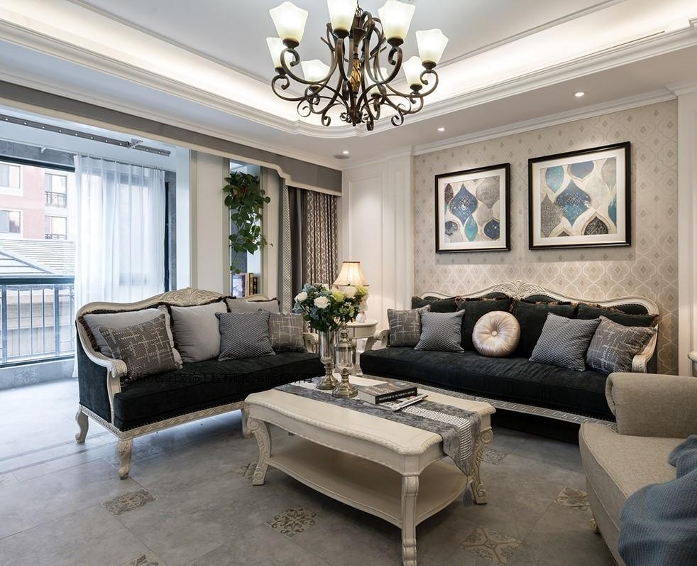 家装空间设计案例之春天花园客厅