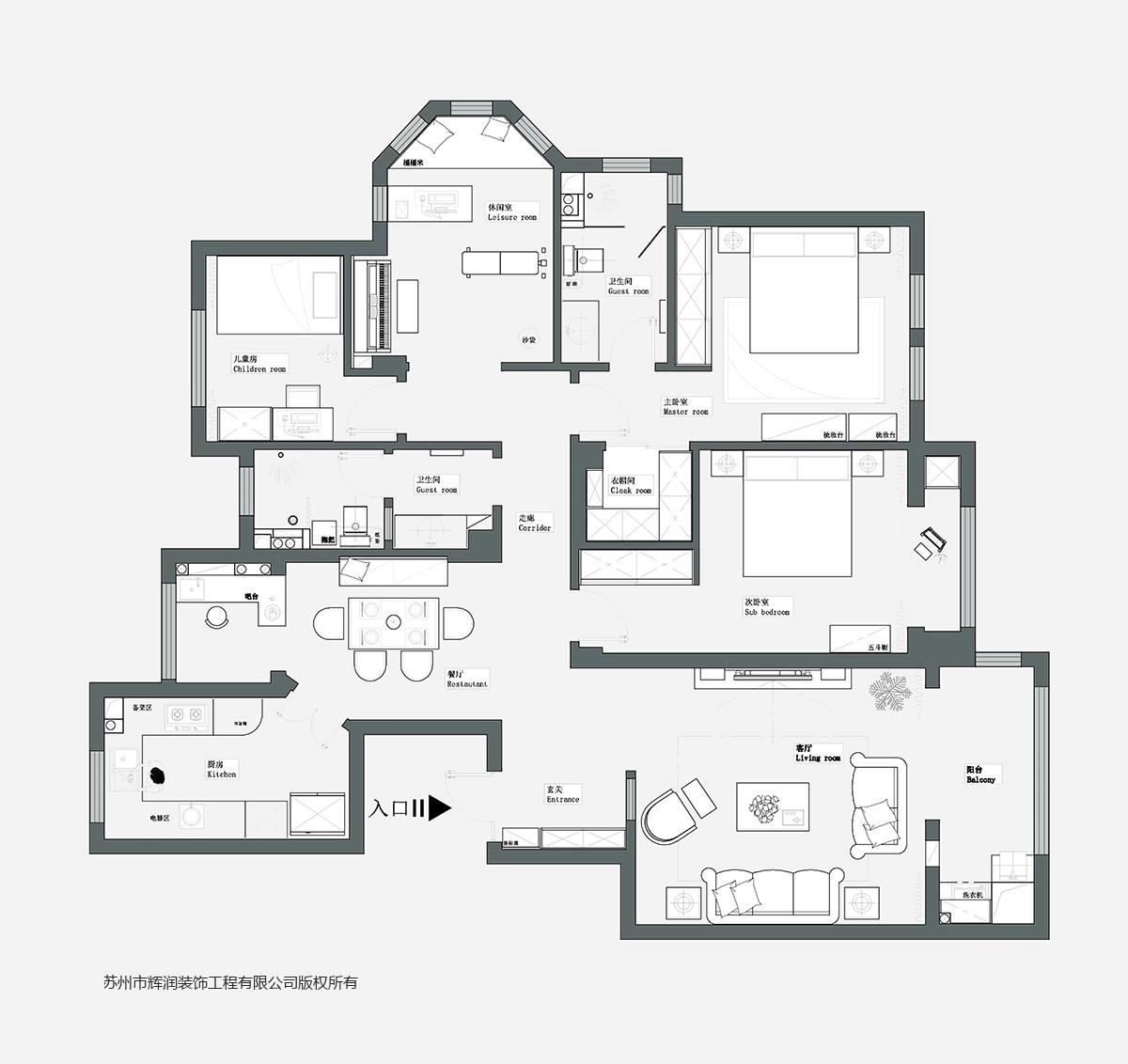 家装空间设计案例之春天花园布置