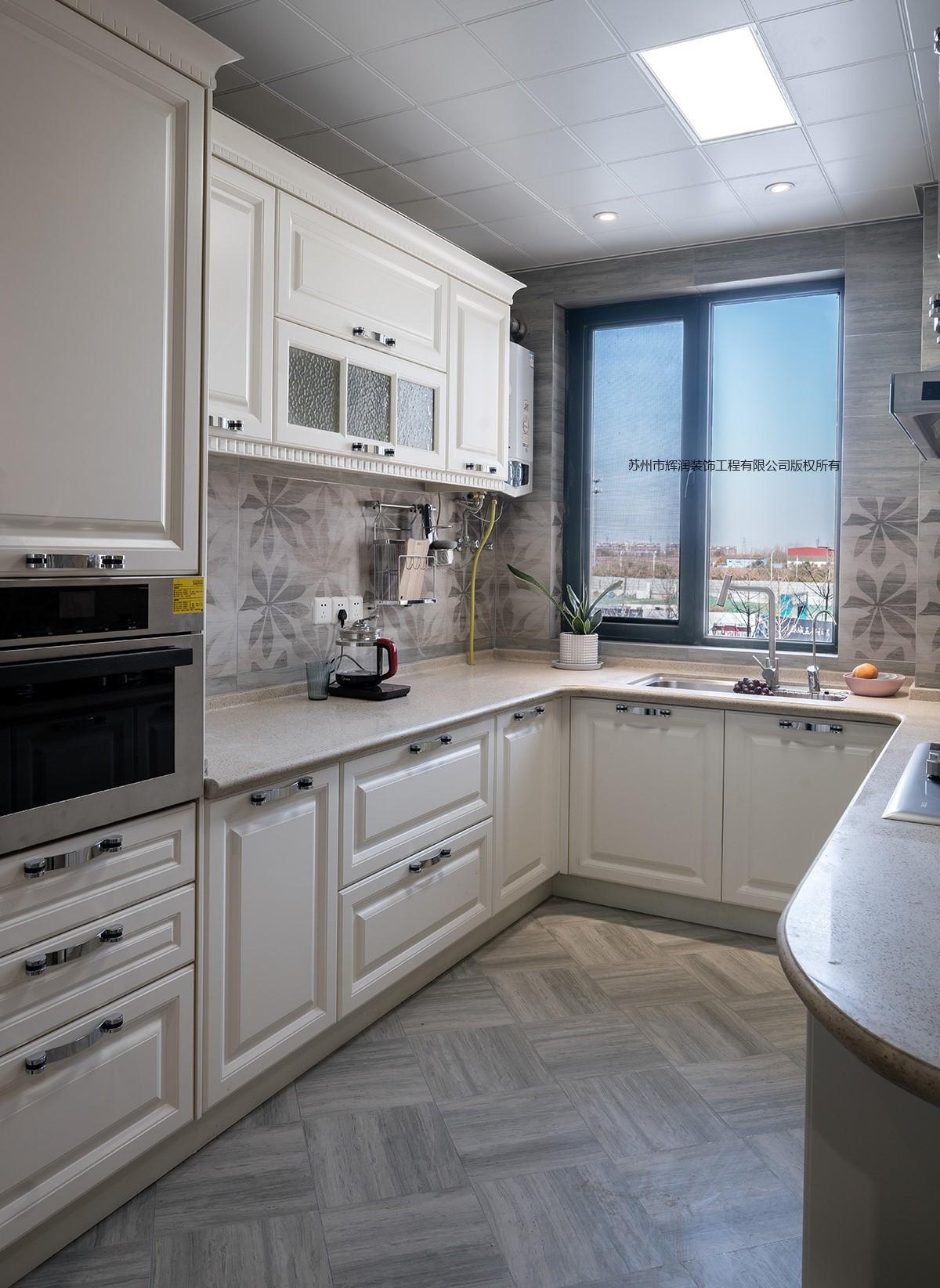 家装空间设计案例之春天花园厨房