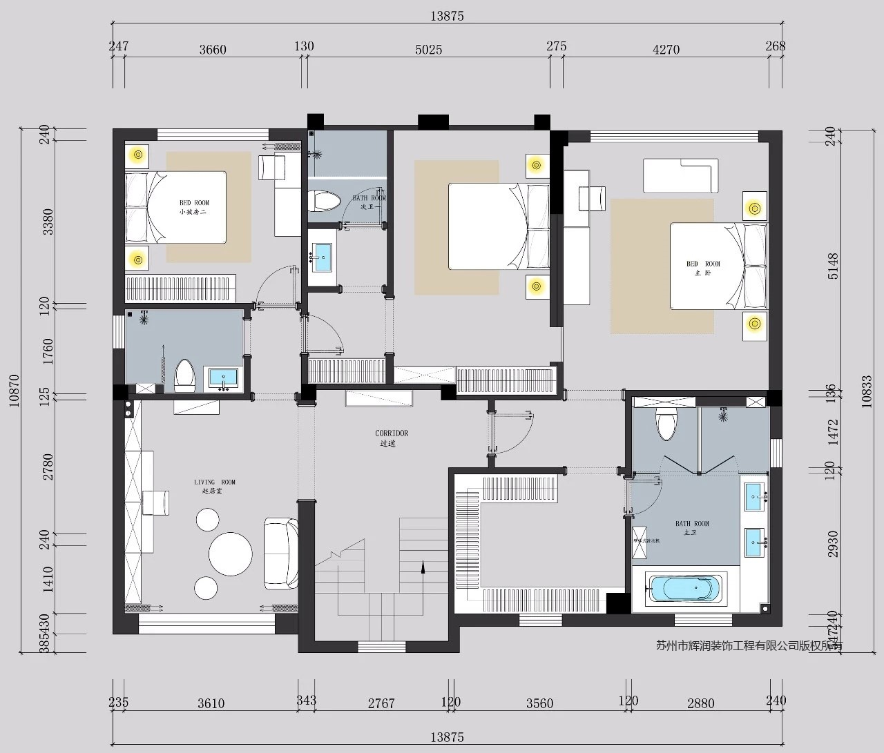 别墅案例图库之唤醒生活的闪光时刻平面图