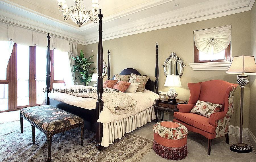 别墅设计模板之低调奢华有内涵次卧