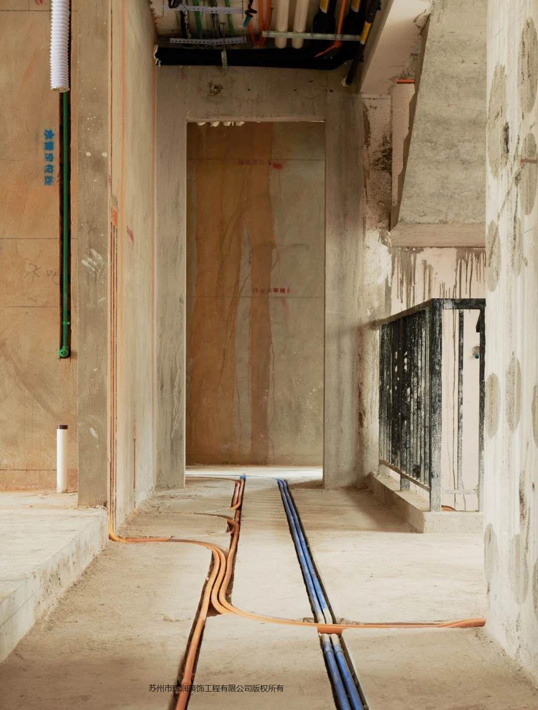 别墅案例图库之精致是一种生活态度水电施工