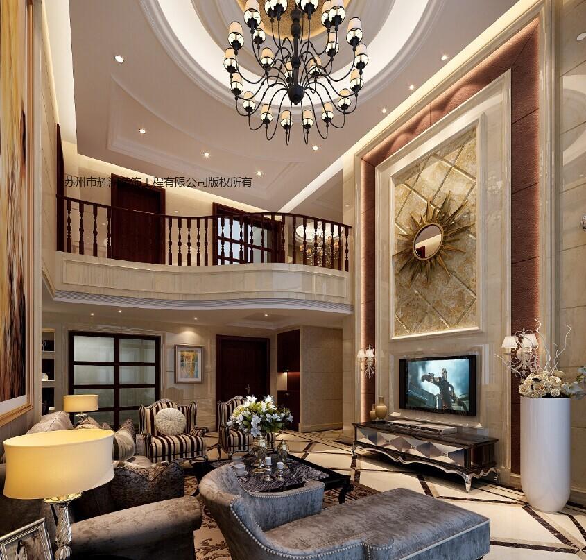 别墅案例图库之精致是一种生活态度主厅